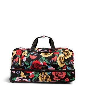 Lighten Up Large Wheeled Duffel Bag in Havana Rose